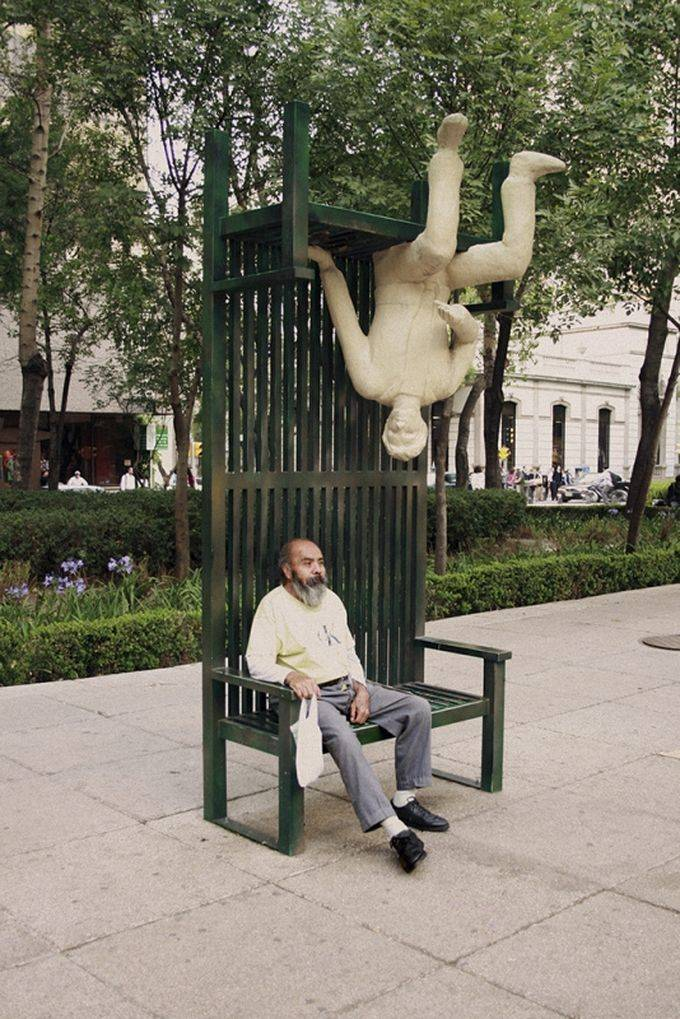 Самые необычные городские скамейки