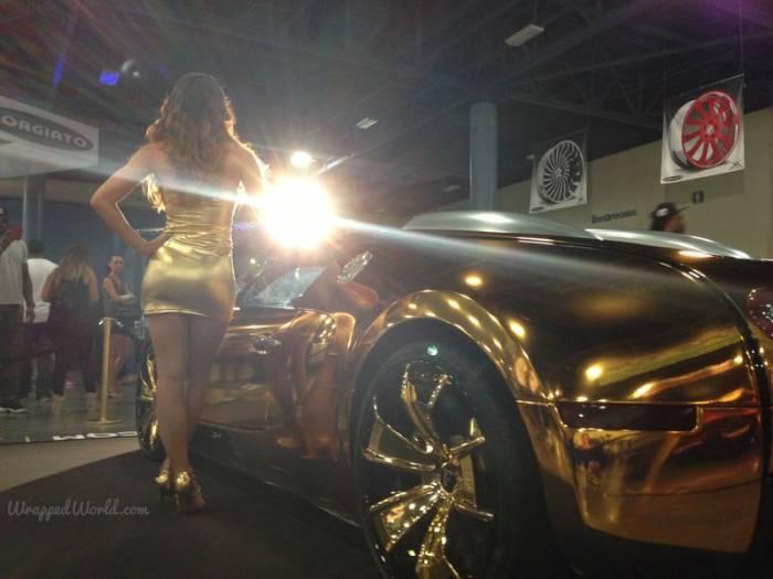 Золотой Bugatti Veyron рэпера Flo Rida (13 фото)