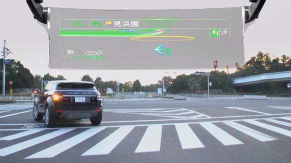 Pioneer начала продажи автомобильного навигатора с дополненной реальностью (2 фото+видео)