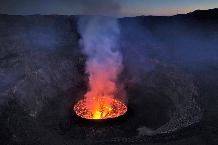 Жерло вулкана (28 фото)
