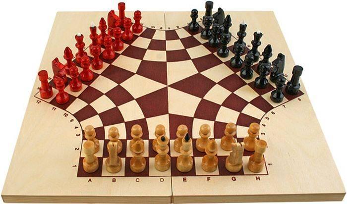Самые оригинальные шахматы