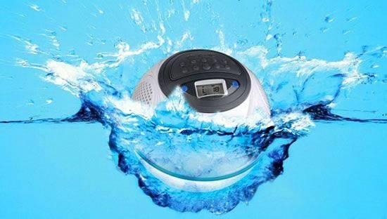 Aqua Dancer – водонепроницаемый динамик (3 фото)
