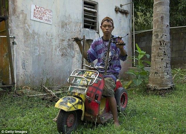 Индонезийские мопеды своими руками