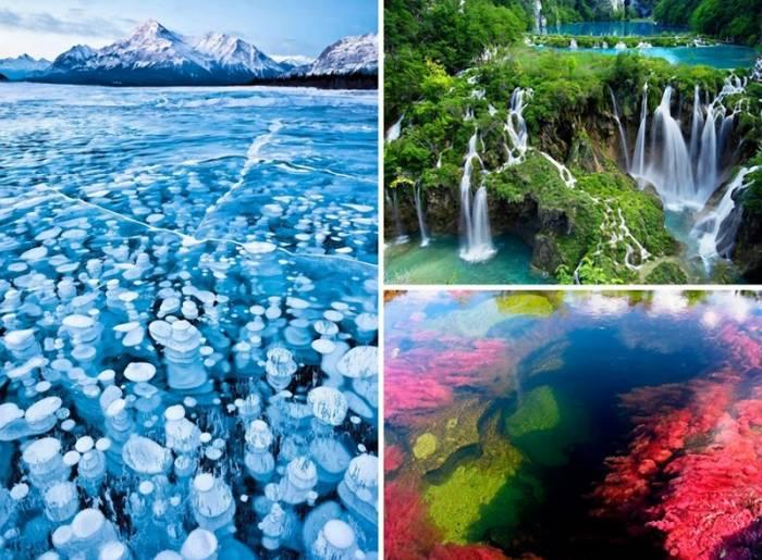 8 самых красивых водных ландшафтов мира (8 фото)
