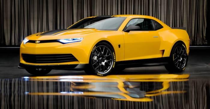 Концепт нового Chevrolet Camaro засветился на съемках «Трансформеров 4» (12 фото)