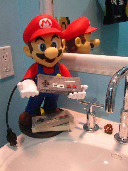Туалет в стиле Супер Марио (11 фото)