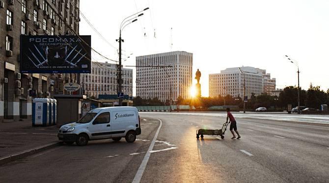 Рассвет в Москве (30 фото)