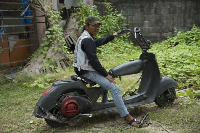 Слет байкеров в Индонезии (25 фото)