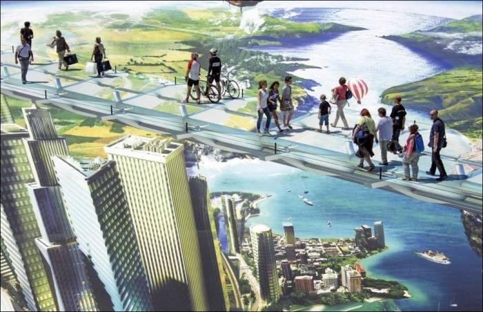 Самый большой 3D стрит-арт в мире (7 фото)