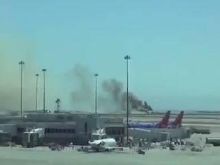Крушение Боинга-777 в аэропорту Сан-Франциско