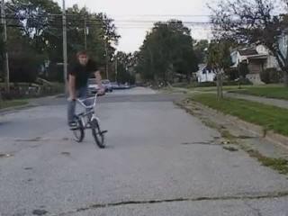 Неудачный вело трюк