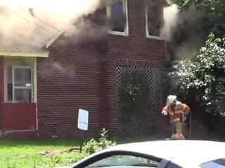 Работа американских пожарных