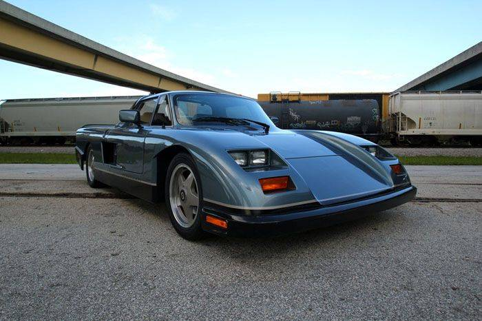 1990 Mosler Consulier GTP (11 фото)