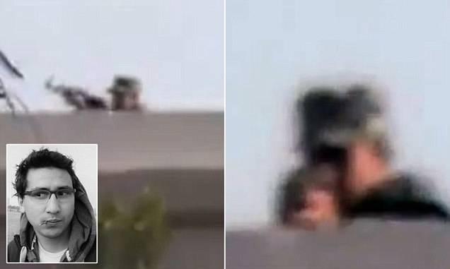 Египетский журналист запечатлел на видео собственную смерть (2 фото+видео)