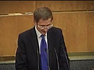 Выступление вице-спикера Госдумы