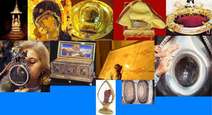 Священные мировые реликвии (11 фото)