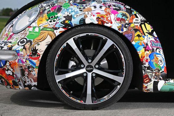 Тюнинг Volkswagen New Beetle (13 фото)