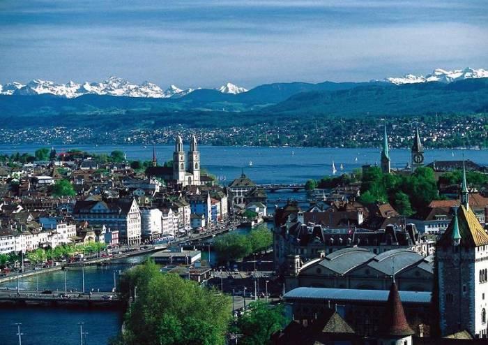 Достопримечательности Цюриха (11 фото)