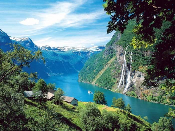 Фьорды Норвегии (6 фото)