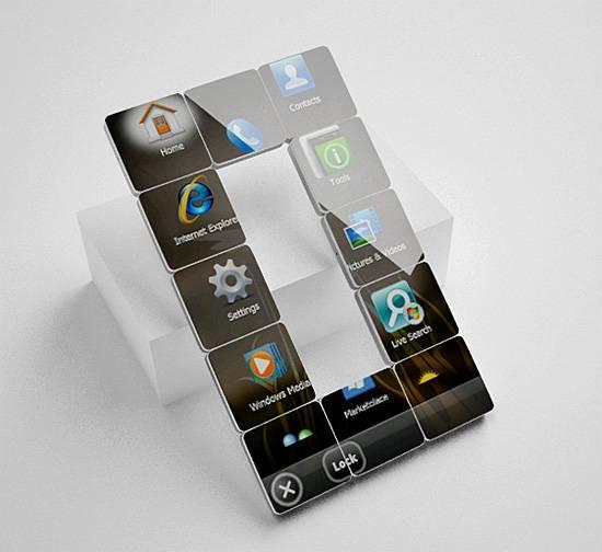Смартфон Mobikoma превращается в планшетик (8 фото)