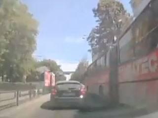 Аварии на городских улицах