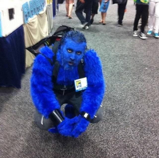 Подборка странных косплей костюмов на Comic Con 2013 (25 фото)