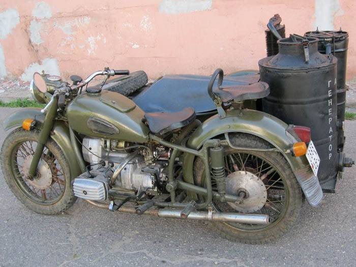 Мотоцикл, работающий на дровах (36 фото)