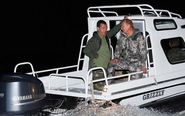 Как президент России на рыбалку съездил (17 фото)