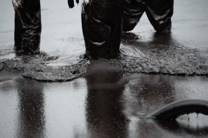 Курорты Таиланда испорчены нефтью (12 фото)