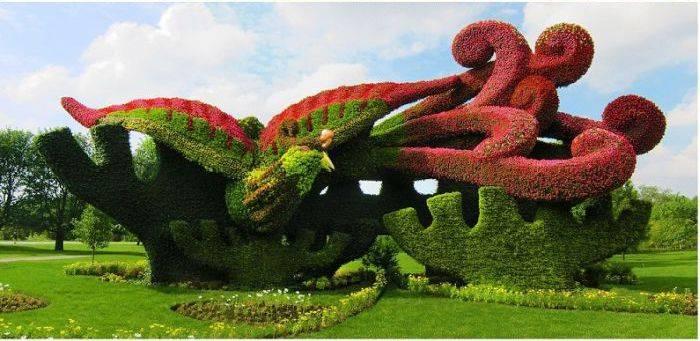 Выставка садового искусства (22 фото)