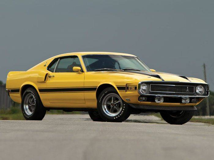 1970 Ford Mustang Shelby GT350 (18 фото)