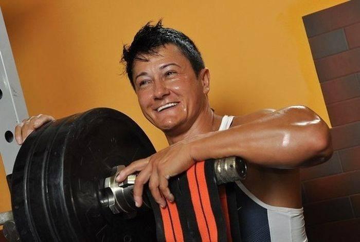 Самая сильная женщина Украины (27 фото)