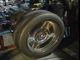 Тест подвески на высоких скоростях