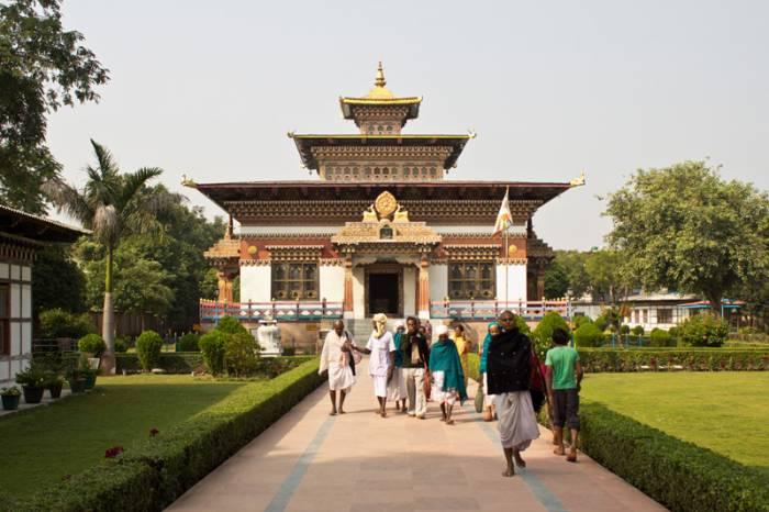 Из индуизма в буддизм - дорога в Бодх-Гаю (38 фото)
