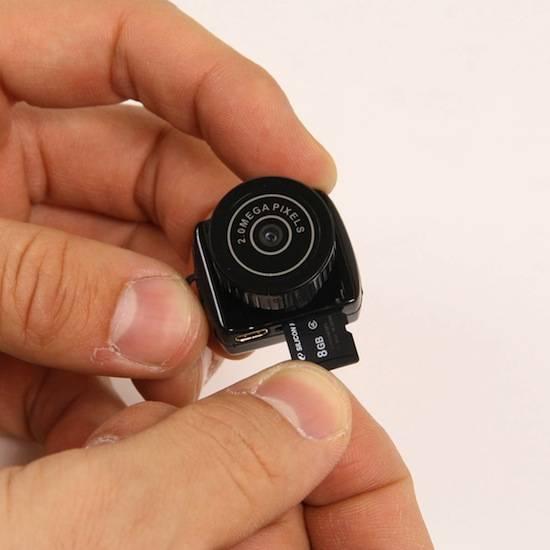 MAME-CAM — самая маленькая камера в мире (5 фото)