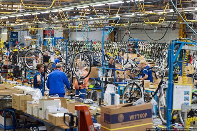 Как делают велосипеды Пежо (45 фото)