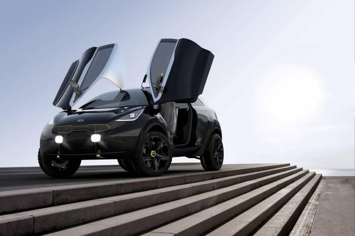 Kia раскрыла подробности о новом концепте мини кроссовера для Европы (9 фото)
