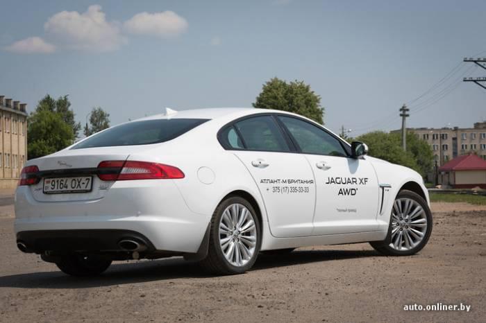 Тест-драйв Jaguar XF AWD (33 фото)