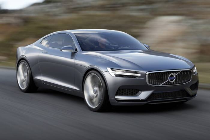 Volvo покажет во Франкфурте концептуальное гибридное купе (20 фото)