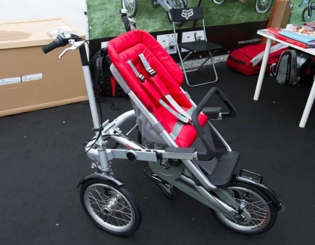 Vagabond: из велосипеда в детскую коляску за секунды (18 фото)