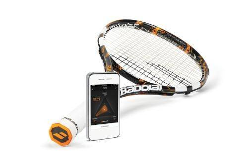 Теннисная ракетка с поддержкой Bluetooth