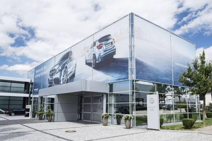 Фоторепортаж: штаб-квартира AMG Affalterbach (45 фото)