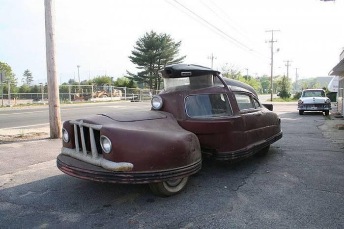 Автомобиль из двух частей - Sir Vival 1958 (14 фото)