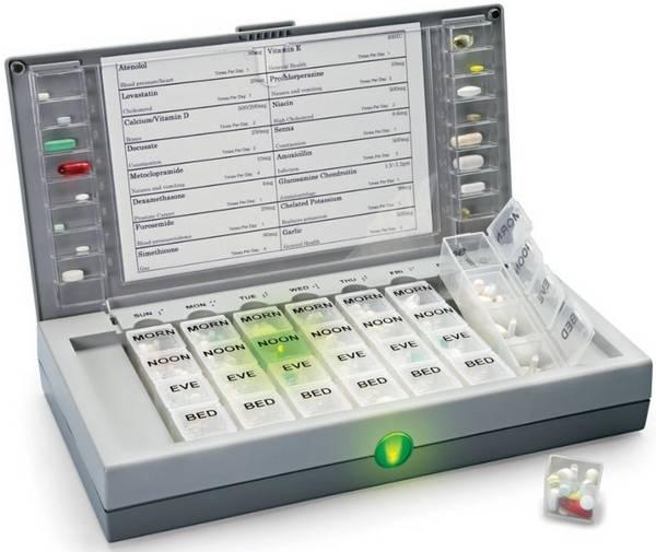 «Умная» аптечка Audio Visual Alerting Pillbox