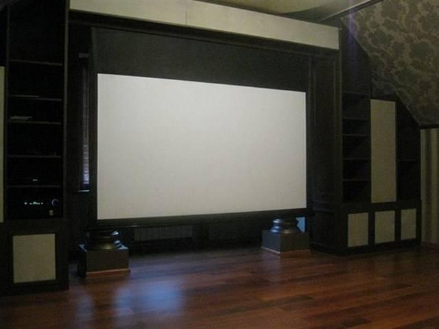 Делаем кинотеатр в своем доме (25 фото)