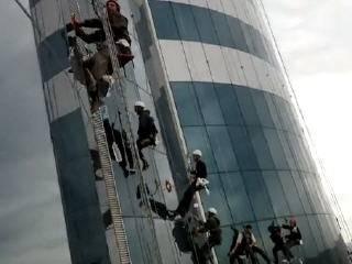 Чеченцы строят небоскрёб