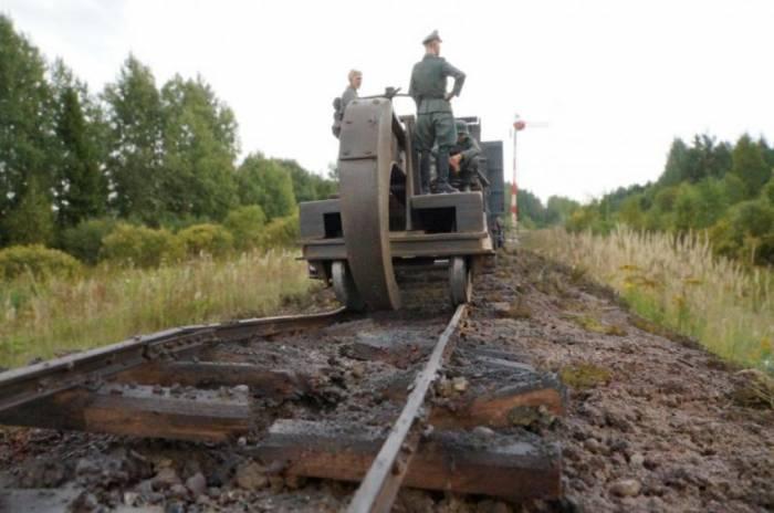 Немецкий паровоз BR-52 (138 фото)