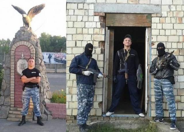 """Бойцы """"Беркут"""" и их персональые странички в социальных сетях (24 фото)"""