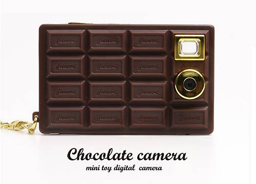 Цифровой фотоаппарат шоколадка (4 фото)