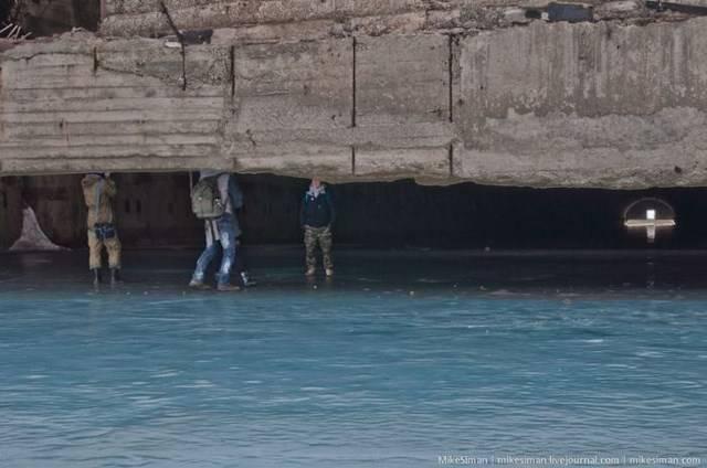 Укрытие подводных лодок (33 фото)